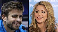 Gerard Piqué a Shakira - tenhle párek není Realu Madrid vhod...