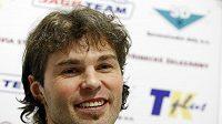 Hokejista Jaromír Jágr byl po návratu domů v dobrém rozmaru