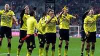 Radost fotbalistů Borussie Dortmund