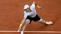 Tomáš Berdych ve čtvrtfinále French Open