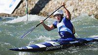 Vítězka kategorie C1 na MS ve vodním slalomu v Čunovu Kateřina Hošková z ČR.
