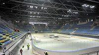 Současná podoba haly v Bratislavě, kde se odehraje na jaře roku 2011 hokejové mistrovství světa.