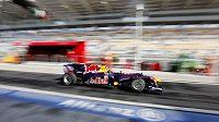 Sebastian vettel ze stáje Red Bull zajel v Interlagosu nejrychlejší čas v prvním tréninku.