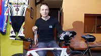 Handicapovaný cyklista Michal Stark
