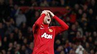 Útočník Manchesteru United Dimitar Berbatov