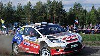 Martin Prokop během Finské rallye.