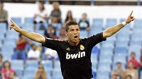 Cristiano Ronaldo se raduje z branky.