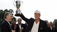 Švédský golfista Fredrik Jacobson se dočkal vítězství.