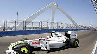 Rubens Barrichello během GP Evropy ve Valencii