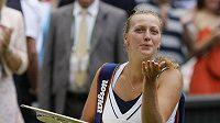 Hned po vítězství ve Wimbledonu přišel tenistce Petře Kvitové blahopřejný telegram od prezidenta Václav Klause i s pozváním na Hrad.