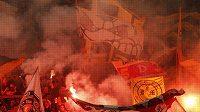 Němečtí fotbaloví fanoušci - ilustrační foto