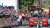 Španěl Imanol Erviti zvítězil v 10. etapě Vuelty.