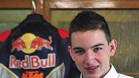 Motocyklový závodník Jakub Kornfeil bude letos jediným v MS do 125 ccm.