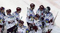 Hokejisté Sparty trofej pro vítěze Tipsport Cupu letos neobhájí.