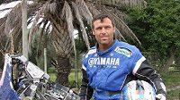 Český motocyklista Martin Macek