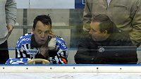 Hokejový rozhodčí - ilustrační foto.