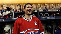 Kapitán Montrealu Canadiens Brian Gionta.