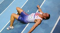 Roman Šebrle po doběhu závodu na 1000 metrů