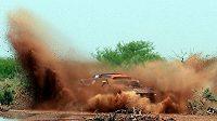 Nasser Attíja z Kataru během Rallye Dakar