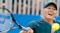 Ruská tenistka Maria Šarapovová na turnaji v Birminghamu.