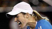 Belgická tenistka Justine Heninová na Australian Open