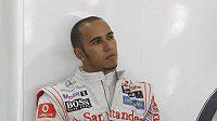 Britský pilot formule 1 Lewis Hamilton.