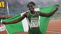Nigerijská sprinterka Osayemi Oludamolaová.