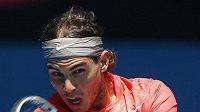 Rafael NAdal bez problémů postoupil do třetího kola Australian Open.
