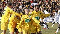 Radost fotbalistů Chambéry