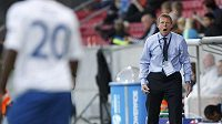 Trenér anglického týmu do 21 let Stuart Pearce