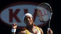 Tenistka Serena Williamsová už opět trénuje.