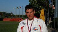 Jakub Tomeček s bronzem