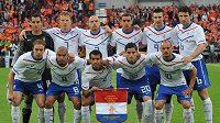 Fotbalisté Nizozemska před přátelským zápasem s Ghanou