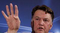 Trenér Bayernu Mnichov Louis van Gaal.