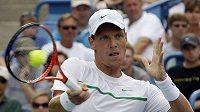 Tomáš Berdych se v prvním kole US Open utká s francouzským tenistou Romainem Jouanem.