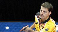Německý stolní tenista Timo Boll