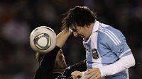 Lionel Messi byl nejlepším na hřišti.
