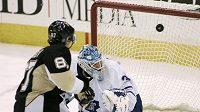 Sidney Crosby nedal brankáři Toronta šanci.
