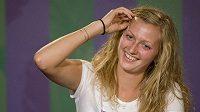 Ani vítězství ve Wimbledonu mě nezmění, hlásila hned Petra Kvitová