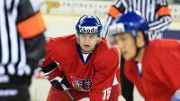 Obránce hokejové dvacítky Jakub Jeřábek
