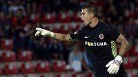Brankář fotbalistů Sparty Milan Švenger