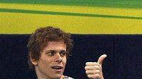 Brazilský plavec Cesar Cielo.