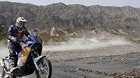 Francouz Cyril Despres má mezi motocyklisty luxusní náskok