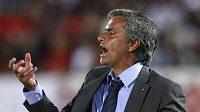 Portugalský trenér José Mourinho ve službách Realu Madrid.