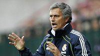Trenér Realu Madrid José Mourinho se už zase zlobí...