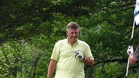 Stanislav Šubrt během golfu při BMW X3 Games