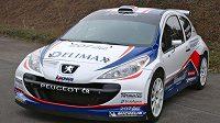 Peugeot S2000, s nímž Pavel Valoušek pojede letošní MMČR v rallye.