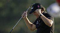 Phil Mickelson se raduje z triumfu na Masters