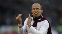Fotbalista Bayernu Mnichov Arjen Robben byl po vyřazení z Ligy mistrů zklamaný, Evropskou ligu ale hrát nechce.
