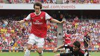 Ani Tomáš Rosický v poslední čtvrthodině nepomohl Arsenalu k vítěznému gólu.
